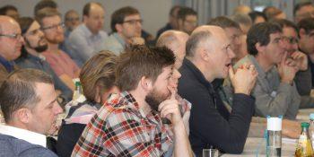 Rund 120 Teilnehmer kamen zu dem Symposium im Berufskolleg Bergisch Gladbach. Foto: Tischler NRW