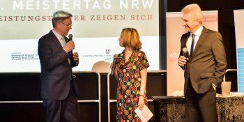 7. Meistertag NRW unter Teilnahme von u.a. NRW-Wirtschaftsminister Prof. Dr. Andreas Pinkwart (r.) und WHKT-Präsident Hans Hund
